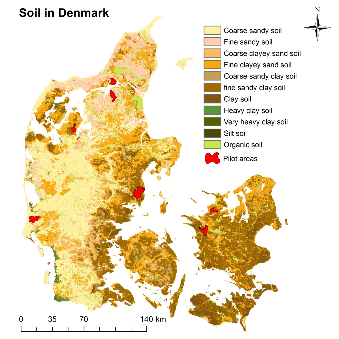 Dnmark 5 lammefjord for Soil and its types